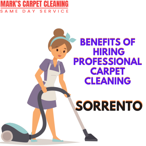 Why You Need Professional carpet cleaning service in Sorrento