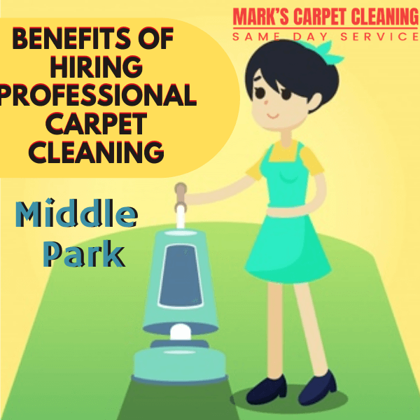 benefit of hiring Marks carpet cleaning Middle Park