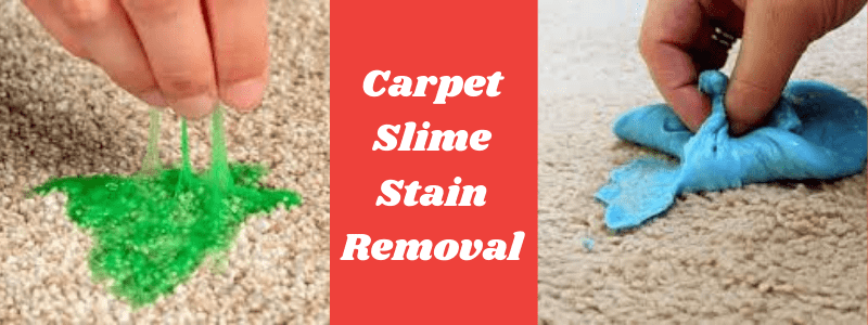Carpet Slime Stain Removal