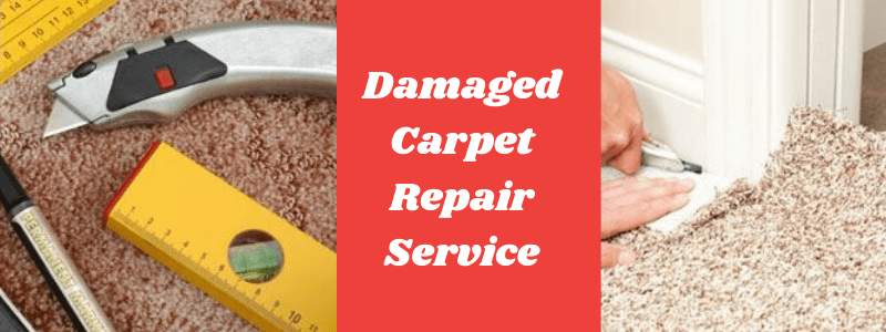 Damaged Carpet Repair Service