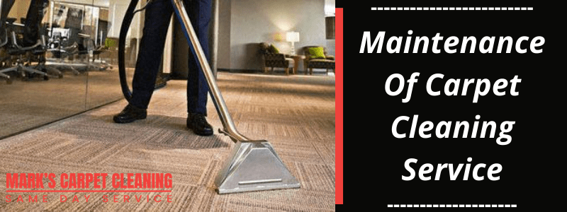 Maintenance Of Cаrреt Cleaning Service