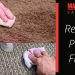 How to Remove Nail Varnish from Carpet