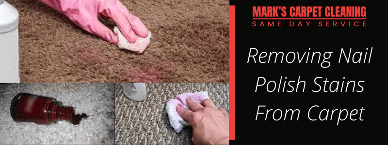 Removing Nail Polish Stains From Carpet